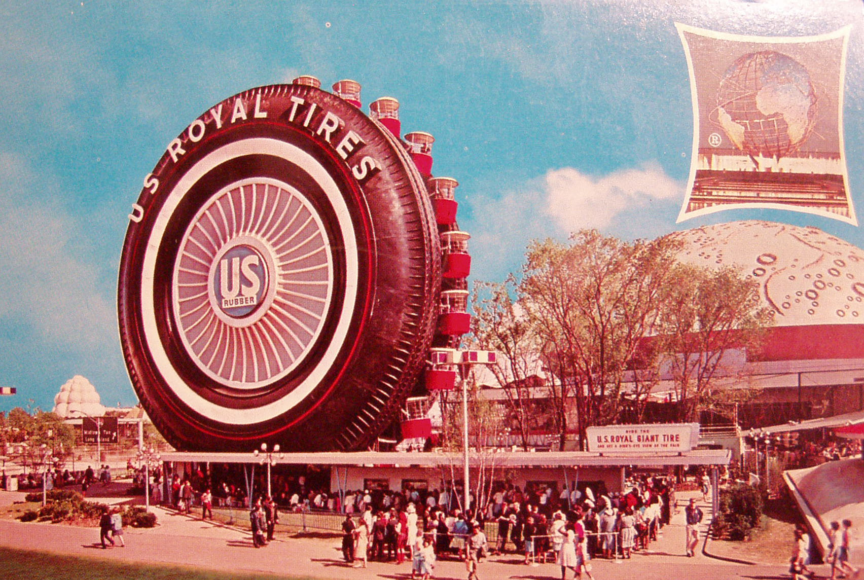 1964 New York Worlds Fair Farris Wheel