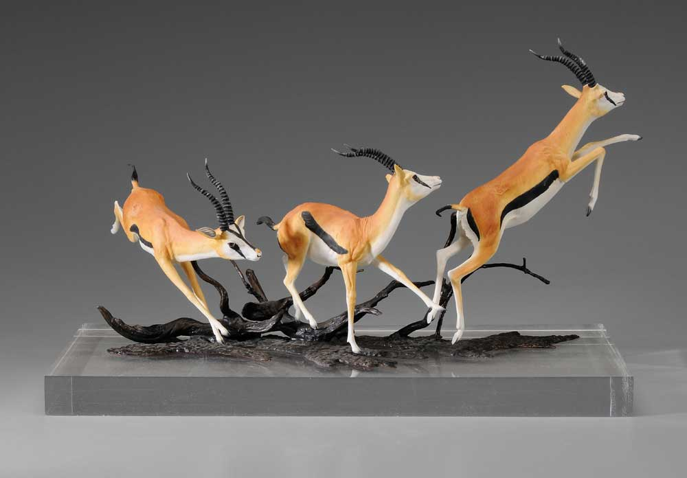 Boehm Porcelain Thompson's Gazelles