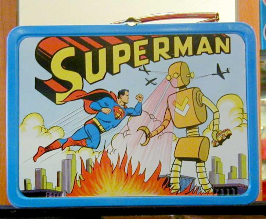 1954 Adco Superman lunchbox