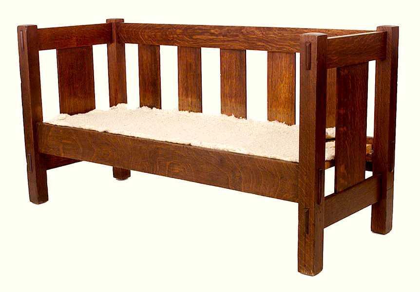 Gustav Stickley Furniture For Sale Furniture: Settle; Arts & Crafts, Stickley (Gustav), Even Arm ...
