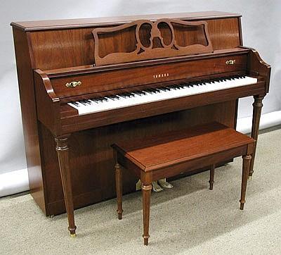 piano yamaha model m500s bench