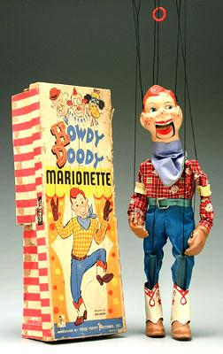 Howdy Doody marionette with original box