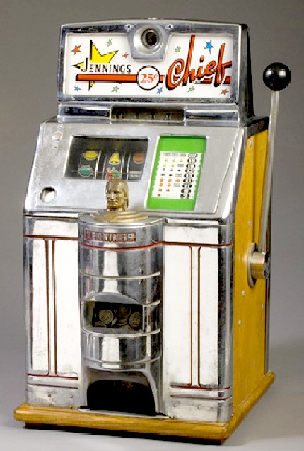 25 cent jennings slot machine for sale