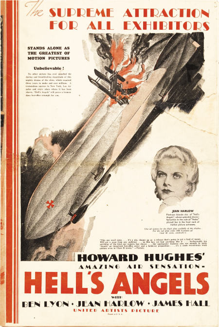 Pressbook; Movie, Hell's Angels, 1930, + Premiere Program.