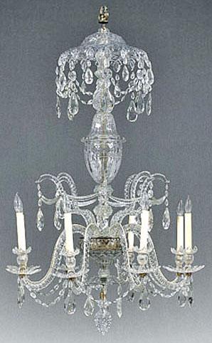 George III Waterford crystal chandelier