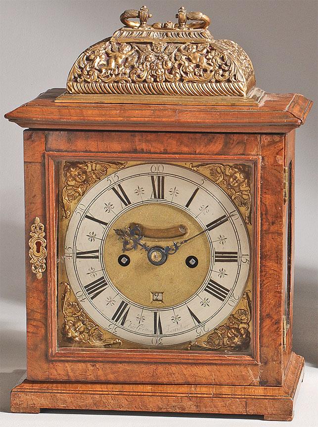 Charles Gretton English bracket clock