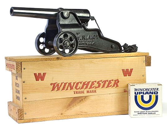 Winchester starter cannon