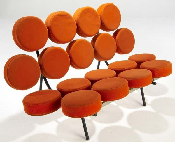 Marshmallow sofa by george nelson for herman miller p4a item d9850489