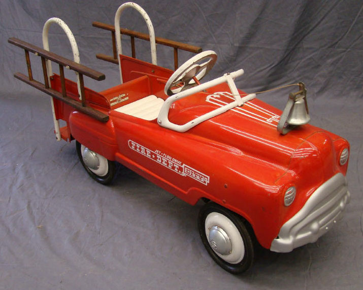 Fire Truck Pedal Car: Murray Fire Truck Pedal Car Home Pictures