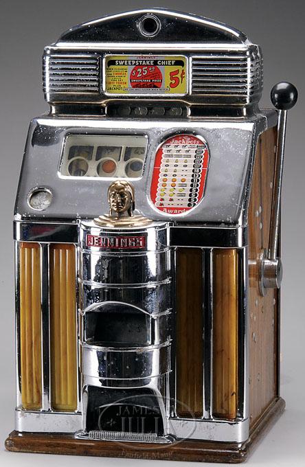 jennings airplane slot machine