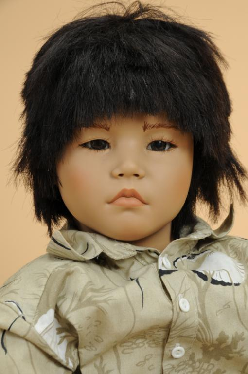Artist Signed Doll Himstedt Annette Makimura Dark