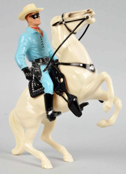 Figure Hartland Western Lone Ranger Amp Silver Rearing