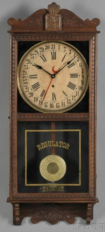 Regulator Clock Sessions Clock Co 8 Day Calendar Wall