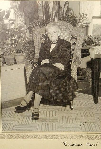 photograph of Grandma Moses