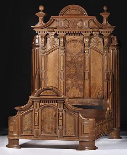 Furniture suite bedroom victorian renaissance revival - Renaissance style bedroom furniture ...