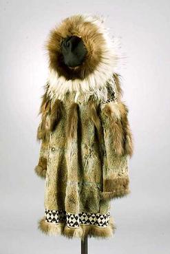 Clothing Inuit Fur Dress Arctic Fox Amp Seal Hooded