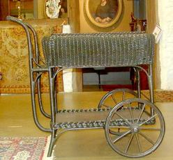 WOODEN TEA TROLLEY TEA CART / SERVING CART - SHOPWIKI
