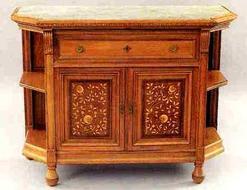 Furniture Server Victorian Aesthetic Movement Herter