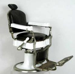 Koken Salesman Sample Barber Chair With Hydraulic Lift Image Credit On Full Record