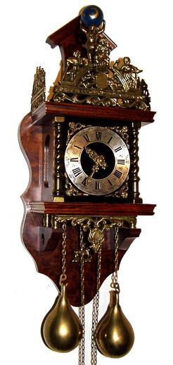 Wall Clock German Badische Uhrenfabrik Atlas Figure 19