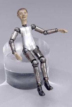 Character Doll Bucherer Saba Male Figure 7 Inch