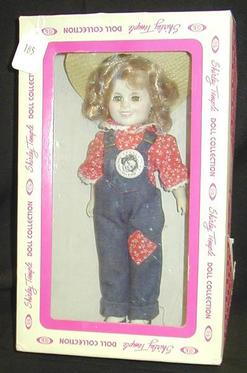Shirley Temple Doll Mib Vinyl Rebecca Of Sunnybrook