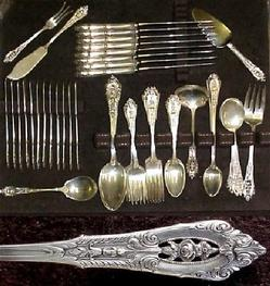 Floral Stainless Flatware Patterns - 20 Available