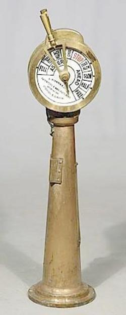 Instruments Ship S Telegraph Robinson Co Brass 51 Inch