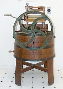 Washing Machine Horton No 12 Wooden Stave Barrel Decal