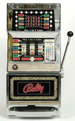 Slot Machine Bally Triple 7 10 Cent 33 Inch