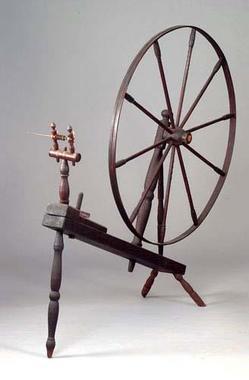 Spinning Wheel Walking Wheel Hickory Amp Oak Wool 5 Ft