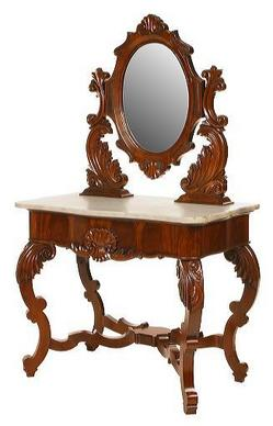 Furniture Table Dressing Victorian Rococo Revival