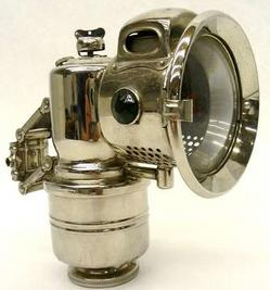 Lantern-Bicycle; P & H, New Revenge, Carbide.