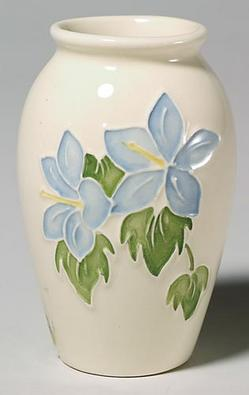 New 2011 MOORCROFT Ginger Jar vase *MOON VALLEY* 769/4 by NICOLA