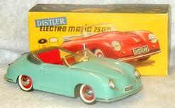 toy car distler porsche electromatic 7500 battery op. Black Bedroom Furniture Sets. Home Design Ideas