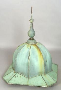 Roof Trim; Cupola Finial, Copper, Octagonal, 50 inch.