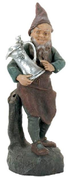 Terracotta Maresch Johann Figure Gnome Amp Beer Stein