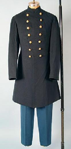 three-piece colonel's Civil War dress uniform; image credit on full ...