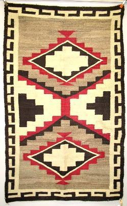 Weaving Navajo Diamond Design Fret Border 5 Feet