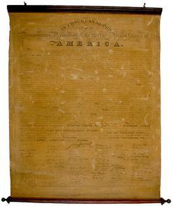 Broadside; Tyler (Benjamin Owen), 1818, Declaration of ...