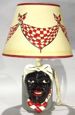 Novelty Aunt Jemima Lamp Wall Mount Ceramic 16 Inch