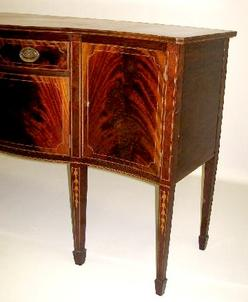 Charmant An Inlaid Hepplewhite Style Sideboard By Potthast Brothers; Image Credit On  Full Record.