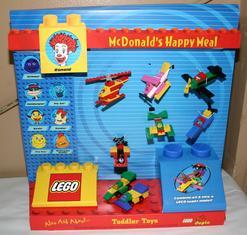 Advertising Toys Mcdonald S Lego Countertop Display