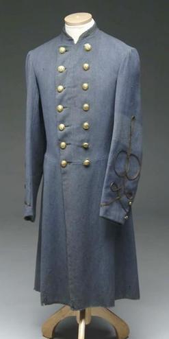 British Overcoat for the Confederate Army - Adolphus Confederate