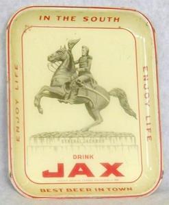 Tray Serving Jackson Brewing Jax Beer General Jackson