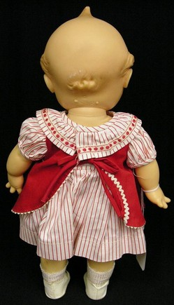 Kewpie Doll Cameo Doll Co Vinyl Original Dress With