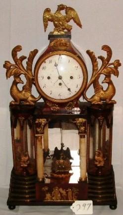 Mantel Clock Kostler Biedermeier Grande Sonnerie