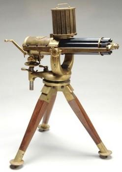Artillery Gatling Gun Furr D Miniature Working Model