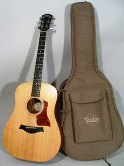 Strings Guitar Taylor Big Baby 306 Gb Acoustic Case