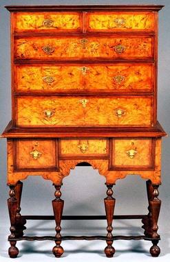 Furniture Highboy William Amp Mary Chestnut Amp Mahogany